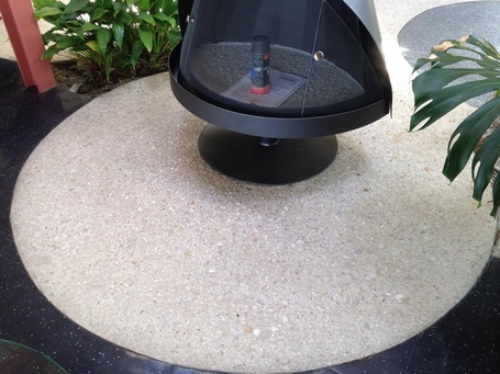 Cleaned and finished aggregate